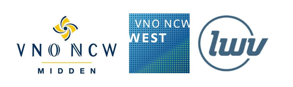 Logo's VNO-NCW drie regio's